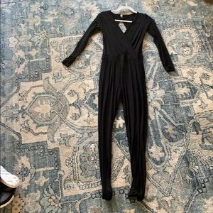 ASOS black long sleeve romper size 4 (us)
